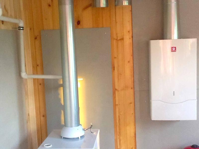 Вентиляция и дымоходы для газовых котлов своими руками 73
